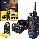 Dogtra 280C Remote Training Collar - 1/2 Mile Range, Waterproof, Rechargeable, Shock, Vibration - Includes PetsTEK Dog Training Clicker