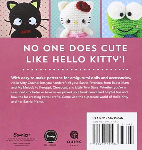 Hello kitty amigurumi crochet - YouTube | 500x474