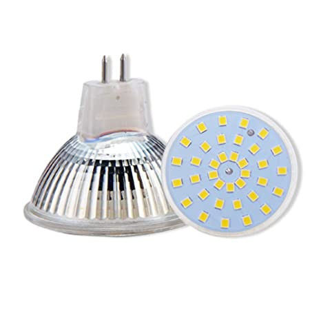 TIPOPP Bombillas LED MR16 led light cup 220V pin led light cup MR16 3W resaltado,
