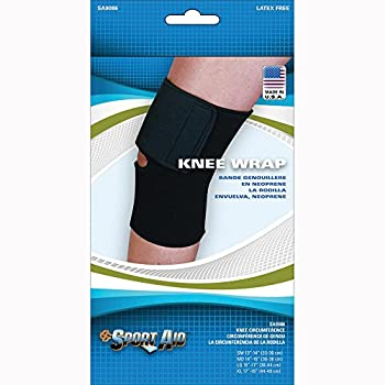 Scott Specialties Sport-Aid Knee Sleeve - SA9086 BLA LGEA - Large, 1 Each / Each