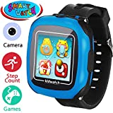 Kids Game Smart Watch - Smartwatch for Boys Girls Toddler with Pedometer Camera Alarm Clock Stopwatch 1.5' Touch GPS Activity Fitness Tracker Children Sports Watches Learning Toys 3-12 Years