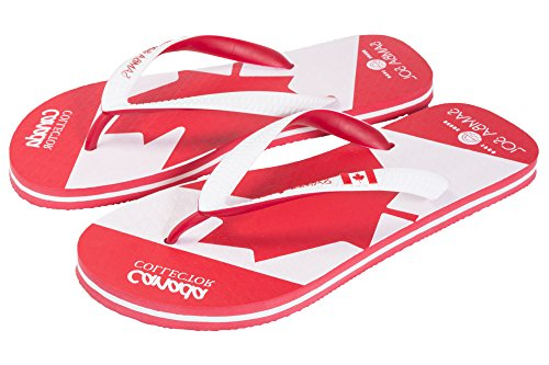 Samba Sol Mens Flag Collection Flip Flops - Fashionable and Comfortable. Trendy and Classic Sandals For Mens. Canada v2DqrK1