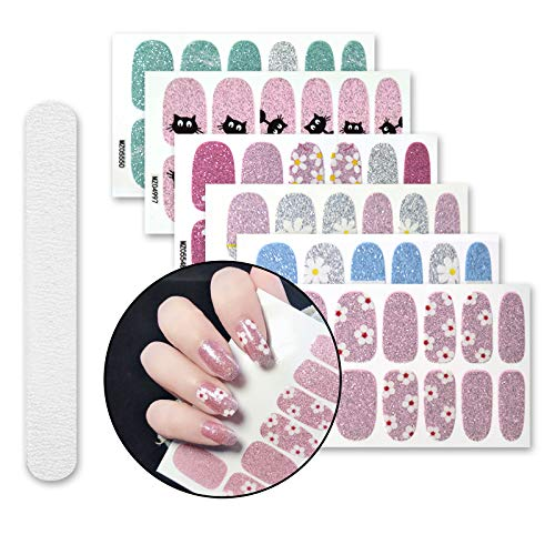 Sheets Stickers Adhesive Manicure Buffers