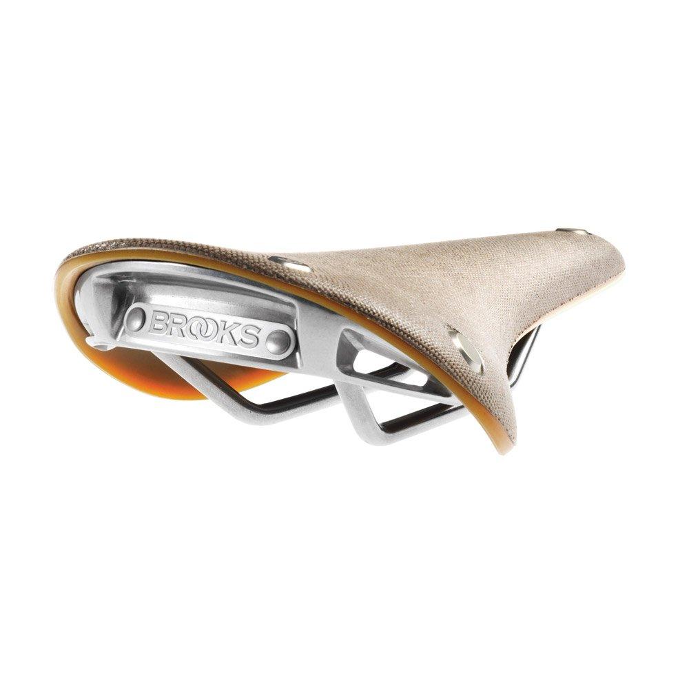BROOKS(ブルックス) 自転車サドル カンビウム CAMBIUM C15 ロードMTB向け次世代サドル 【日本正規品/2年間保証】 B077Y7VQJ7 スレートグレー×ナチュラル|穴あき スレートグレー×ナチュラル