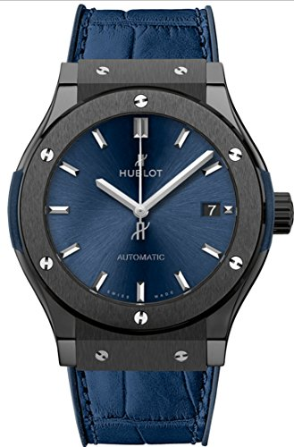 Hublot Classic Fusion Ceramic Blue 45mm Mens Watch 511.CM.7170.LR