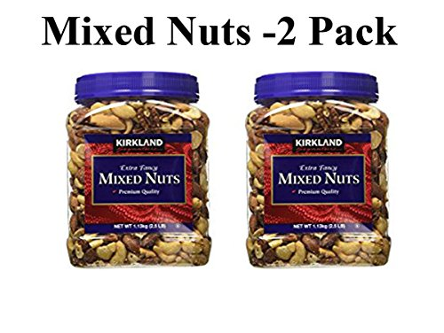 Kirkland Signature Extra Fancy Mixed Nuts: 2 Jars of 40 -