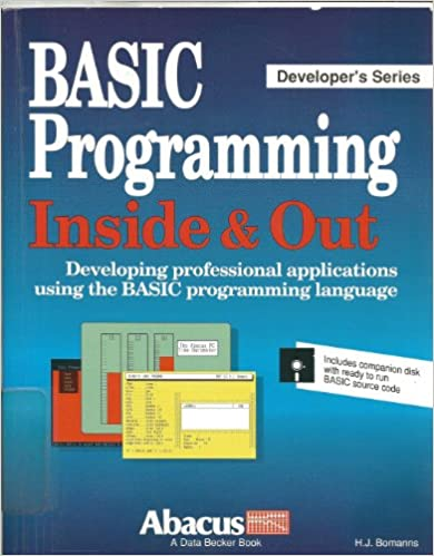 Book BASIC Programming Inside and Out: The Reference Guide (Developer's series)