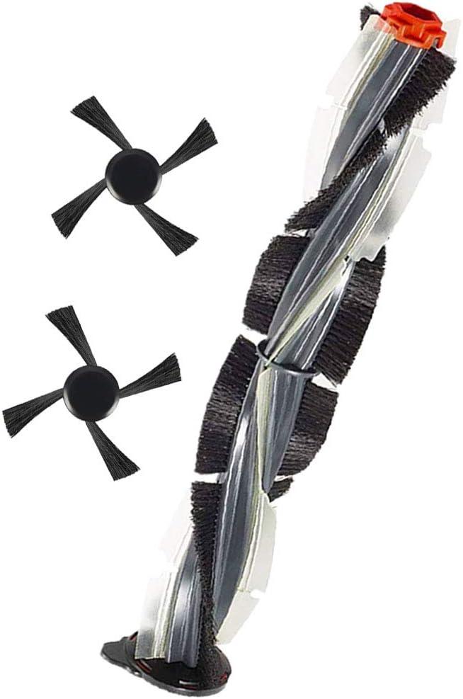 Jorllina Combo Brush for Neato Botvac Connected Series D3 D4 D5 D6 D7 & Neato Botvac D Series D75 D80 D85 Robot Vacuum Cleaner,1 Main Brush &2 Side Brushes Kit