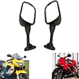 Best View Mirrors For Honda Motorcycles - MZS Motorcycle Rear View Mirrors for Honda CBR Review