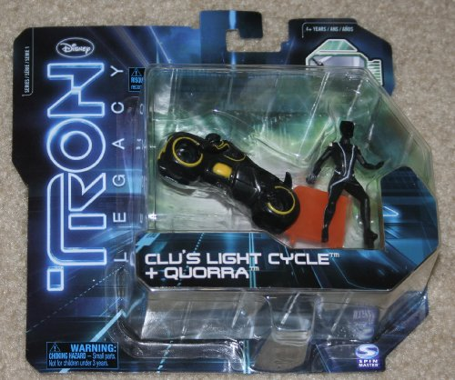Tron Legacy Figures Light (Tron Legacy Series 1 Exclusive Figure 2Pack Clus Light Cycle Quorra)