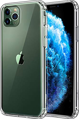 Mkeke Compatible with iPhone 11 Pro Max Case, Clear iPhone 11 Pro Max Cover Shock Absorption Phone Cases 6.5 inch