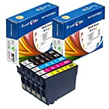 PrintOxe™ Compatible 5 Ink Cartridges for E Series 288XL ; 2 BK T2881 , Cyan T2882 , Magenta T2883 , Yellow T2884 Non OEM T288 For Epson Home Expression Printer Models: XP-430 , XP-330 , & XP-434 Premium T288XL 288