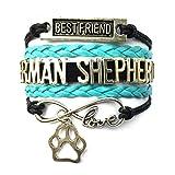 DOLON Braided German Shepherd Bracelet B