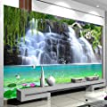 BZDHWWH Custom 3D Photo Wallpaper Waterfall Landscape Wall Painting Bedroom Living Room Sofa Tv Backdrop Non-Woven Wall Murals Wallpaper