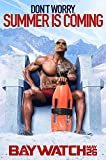 "Posters USA - Baywatch Dwayne Johnson GLOSSY FINISH Movie Poster - FIL529 (16"" x 24"" (41cm x 61cm))"