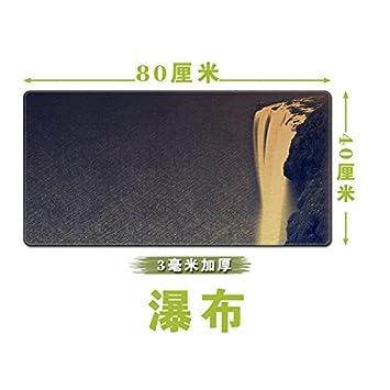 Pad Mouse Alfombrilla Para Ratón Super Grande Y Grueso De Viento China La Pintura China Juego Precioso Teclado Clásico Cuadro Mat Mat,Cascada: Amazon.es: ...