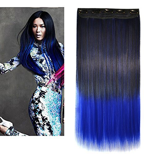 Amazon heahair ombre straight synthetic hair extensions beauty pmusecretfo Image collections