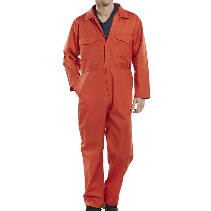 Pro Work ® Adulti Tuta Complessiva Caldaia Tuta da Lavoro Orange XXX-Large   Amazon.it  Abbigliamento 97310041d99