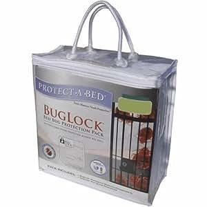 Proteger-A-cama BugLock chinche paquete de protección, a