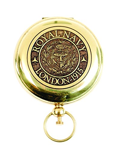 Atlanta Cutlery Reproduction Royal Navy Pocket Compass w/Pouch (Imports Atlanta)