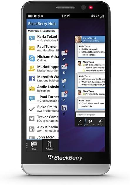 Blackberry Z30 Smartphone 5 Zoll Schwarz Elektronik