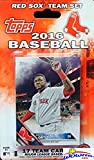 Boston Red Sox 2016 Topps Baseball Factory Sealed EXCLUSIVE Special Limited Edition 17 Card Complete Team Set with Dustin Pedroia, David Ortiz & Many More Stars & Rookies! Shipped in Bubble Mailer!