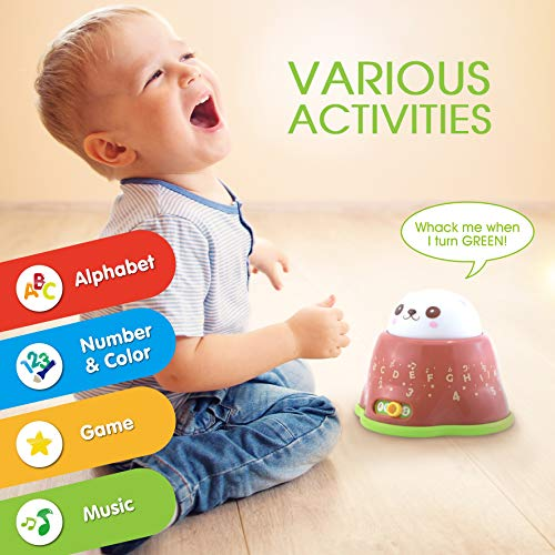BEST LEARNING Whack and Learn Mole – Educational Interactive Light-Up Toy for Infants Babies Toddlers for 6 Month and up…