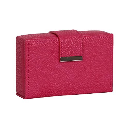 mele-co-joni-travel-jewelry-case-faux-leather-magenta