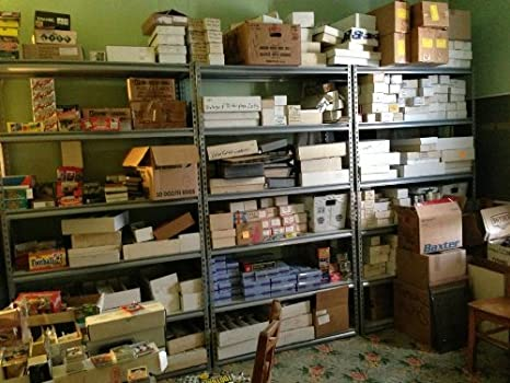Amazon Com Baseball Card Estate Sale Find Huge 3 Million Card Store Dealer Inventory Sale Box Lot 500 Sports Collectibles