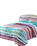 Colorful King Size Comforter Sets vivinna home textile Disperse Printing Quilt Set King Size(106