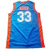 NO.33 Jackie Moon Flint tropical semi-professional basketball movie throwback jerseys stitched white / green S-XXL