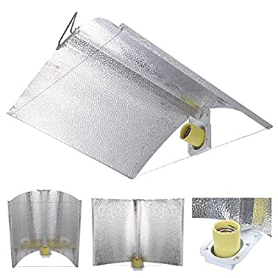 27x18 Air Cool Adjustable Reflector Hood For 1000/600/400w HPSMH Grow Tent Light