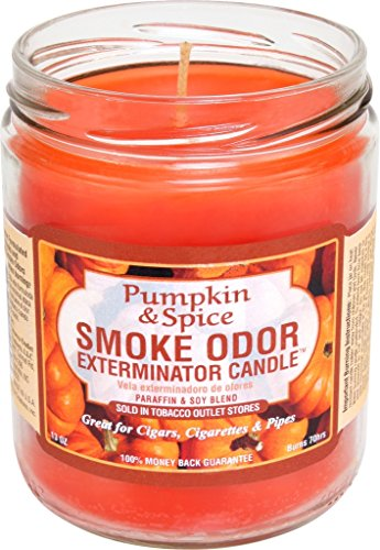 Smoke Odor Exterminator Candle - Smoke Odor Exterminator Candle, Pumpkin & Spice