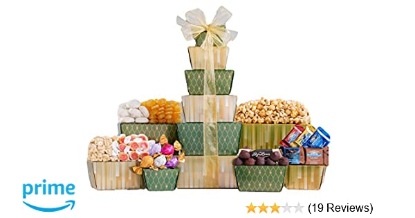 Amazon Com Wine Country Gift Baskets Sweet Stack Gourmet Chocolate Gifts Grocery Gourmet Food