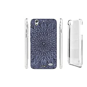 FUNDA CARCASA EFECTO JEANS WIREFRAME STAR PARA HUAWEI ASCEND G620S