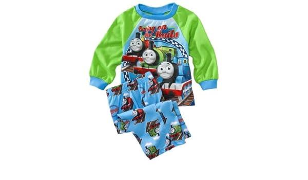 Amazon.com: Thomas the Train Infant 2pc Pajamas Racing on the Rails (12Mos): Infant And Toddler Pajama Sets: Clothing