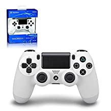 DualShock 4 Controller - Glacier White - PlayStation 4 White Edition