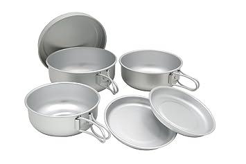 EPI 6-piece? Aluminum Tableware Set C-5307  sc 1 st  Amazon.com & Amazon.com: EPI 6-piece? Aluminum Tableware Set C-5307: Sports ...