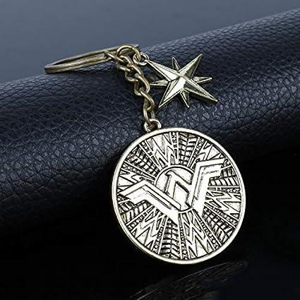 FITIONS - Movie Wonder Woman Key Chain Superhero Keychain ...