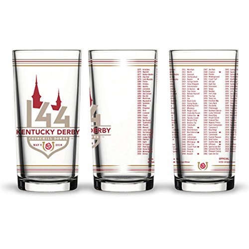 Kentucky Derby Mint Julep Cups - Ky Derby 144th Official Julep Glass for 2018