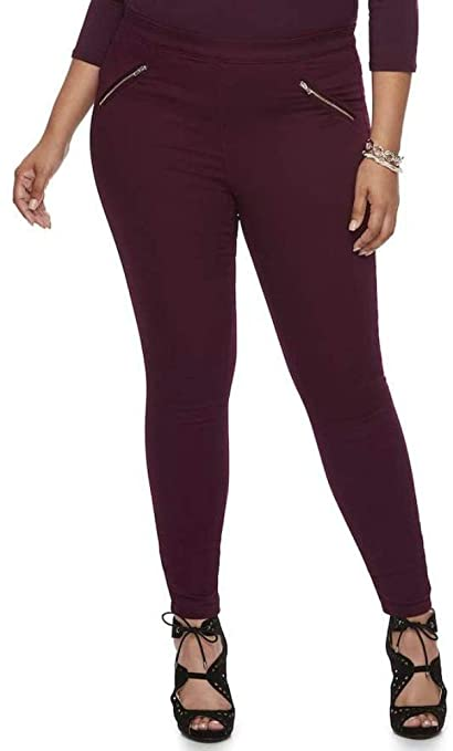 01fe0877fa9 Amazon.com   Jennifer Lopez Plus Size Jeggings