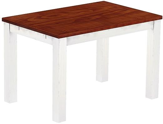 Brasil Muebles Mesa de Comedor Rio Clásico, 130 x 80 cm Caoba ...