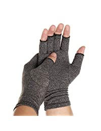 CFR Arthritis Gloves Carpal Tunnel Gloves Compression Gloves for Computer Typing and Dailywork, Support for Relieve Arthritis Symptoms, Raynauds Disease- Open Finger,One Pair,S