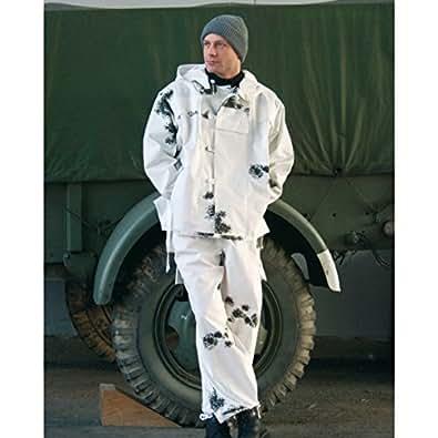 Mil-Tec Ejército alemán Camuflaje de nieve (TALLA M)