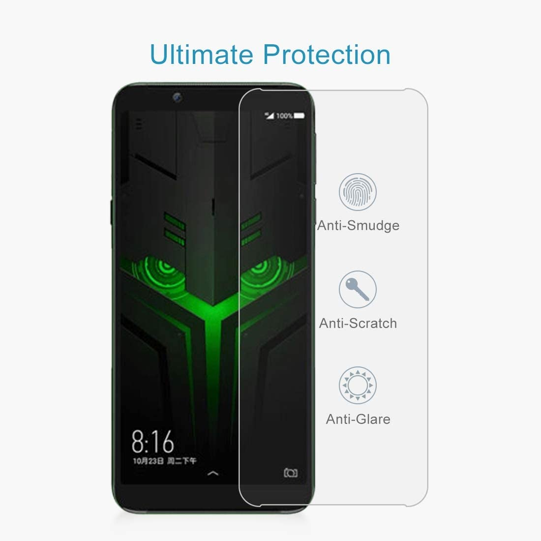 100 PCS for HTC U Ultra 0.26mm 9H Surface Hardness Explosion-Proof Tempered Glass Screen Film Clear YINZHI Screen Protector Film