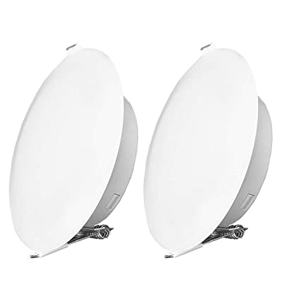 Risestar LED RV Cabinet Light 4.5Inch DC12V Ceiling Down Light Interior Lighting for RV Camper Caravan Trailer Boat, Warm White (Pack of 2): Automotive