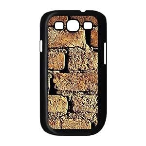 Brick Wall Samsung Galaxy S3 9300 Cell Phone Case Black AMS0724420