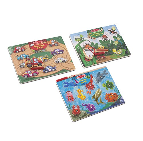 Melissa & Doug Magnetic Game Bundle Novelty