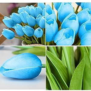 Home Decor, 5pcs/Set DIY Artificial Silk Craft Flowers for Bouquets, Weddings, Wreaths,Crafts, Bud Stem Closed Rose 2