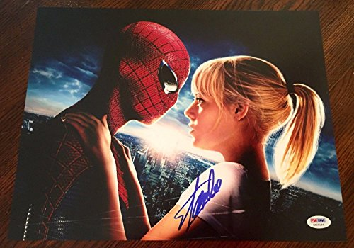 Stan Lee Signed The Amazing Spiderman 1 2 3 11x14 Photo w/ PSA/DNA COA